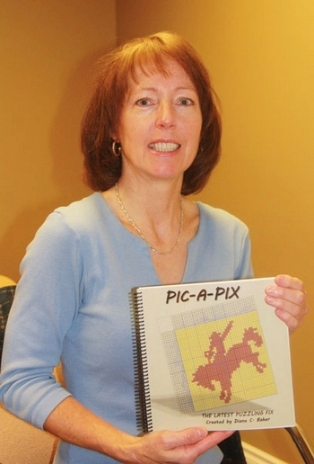 Diane Baher Shows with Pic-A-Pix book